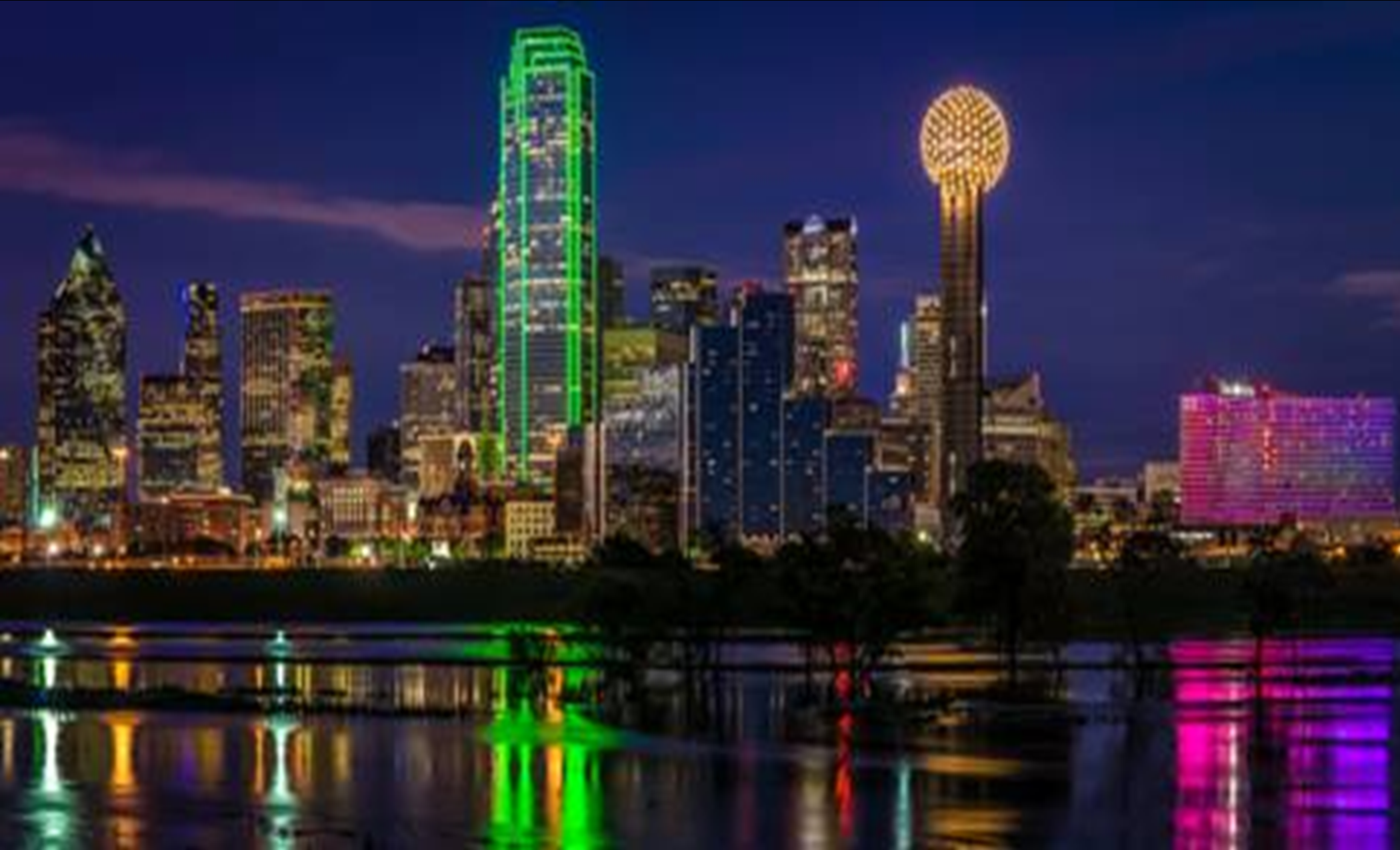 Dallas Skyline Voted Best in the World
