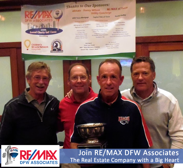 RE/MAX DFW Golf Outing Fund Raiser