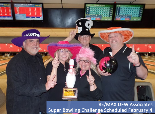 RE/MAX DFW Associates Super Bowling