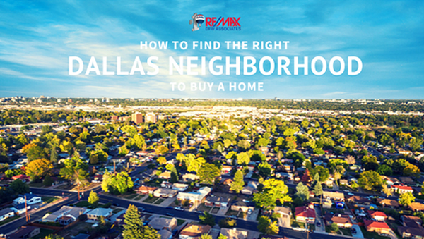 Finding the Right Dallas Neighborhood to Buy a Home