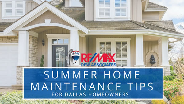 Summertime Home Maintenance Tips