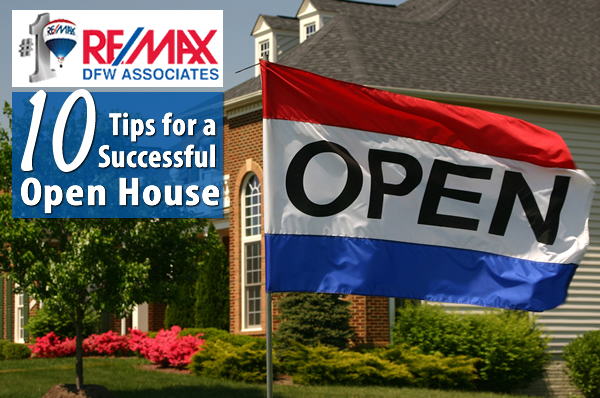 10 Open House Tips