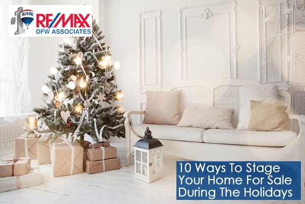 Stage your home to sell during the holidays
